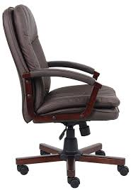 Office Chairs Price Amazon Com Boss Office Products B796 Vsbn Versailles Cherry Wood