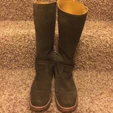 s frye boots sale 75 frye shoes sale frye olive green suede boots from