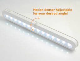 Battery Operated Led Under Cabinet Lighting Jebsens Super Bright Under Cabinet Lighting 14 Led Motion