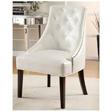 White Leather Accent Chair Coaster Bonded Leather Accent Chair White Walmart