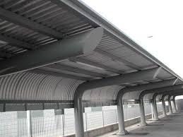 tettoia in ferro tettoie in metallo resistenza ed affidabilit罌 o t