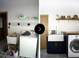 home design before and after before after a modern laundry room makeover for an ohioan s