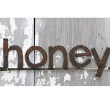 Decorative Signs For The Home Decorative Wall Signage Honey Word Sign Free Shipping