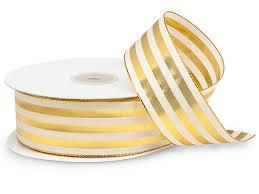 metallic gold ribbon search results