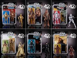 target online offers hasbro star wars 40th anniversary 6 u2033 wave 2