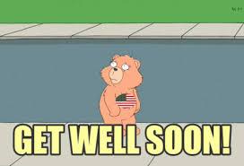 feel better bears feel better get well gif sticker market