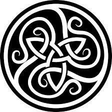 celtic wolf designs patterns