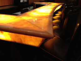 How To Light by How To Light Onyx Countertop Hotel Onyx Counter Top Onyx Wall