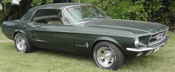 Black 1967 Mustang Fastback 1955 Studebaker Champion Regal Tattoos For You