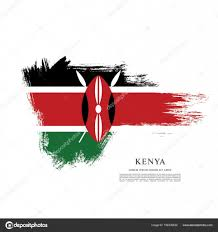 Flag Of Kenya Kenya Flag Layout U2014 Stock Vector Igor Vkv 156339530