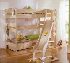 Large Bookshelves by Bunk Beds With Desk For Kids Wooden Large Bookshelves Under Stair