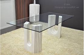 Travertine Dining Table 2000mm Travertine Marble Dining Table Glass Roma