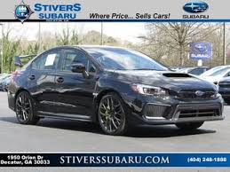 black subaru subaru wrx sti limited for sale in atlanta ga