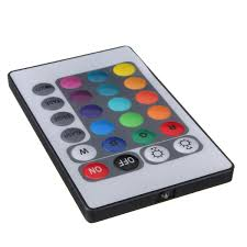 rgb led strip lighting 24 key mini ir remote controller for 3528 5050 rgb led strip light