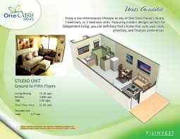 30 sq m filinvest condominium one oasis davao condo for sale
