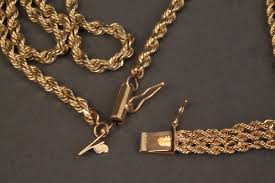 gold chain rope bracelet images 240 14k yellow gold rope chain necklace bracelet jpg