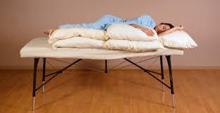 Draping During Massage Massage U0026 Pregnancy Side Lying Position Susan Salvo U0027s Massage