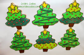 christmas tree cookie cutter christmas lights decoration