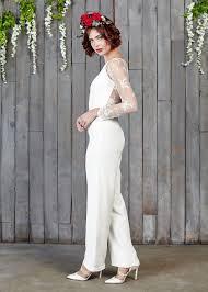 Wedding Dress Jumpsuit Linford Bridal Jumpsuit House Of Ollichon