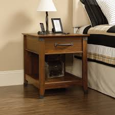 nightstand exquisite cherry finish nightstand cal king dark