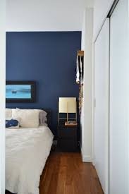 Navy Accent Wall by