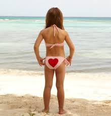 pretee models photos do these bikinis sexualize children
