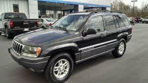 charcoal black jeep 2003 jeep grand cherokee laredo sport utility 4 door 4 0l 4x4 suv