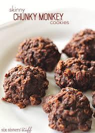 skinny chunky monkey cookies six sisters u0027 stuff