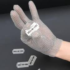 gant de protection cuisine anti coupure gant anti coupure protection en acier inoxydable 304l gris pour