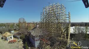 Goliath At Six Flags Goliath At Six Flags Great America Construction Thread Theme