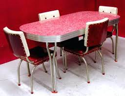 vintage metal kitchen table retro dining table and chair retro kitchen table and chairs the