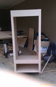 build wall oven cabinet building a cabinet for your double wall oven that hopefully i have