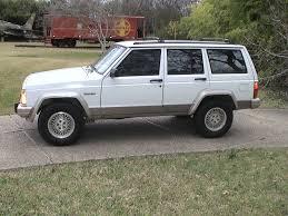 jeep white 93 jeep cherokee white