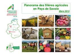 chambre d agriculture 74 panorama des filières agricoles en pays de savoie par florent michez