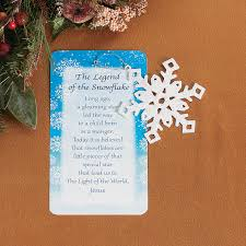 the legend of the icicle ornaments with card christmas ornament