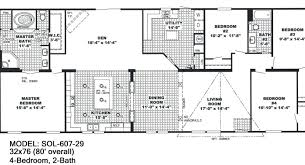 Double Wide Floor Plans With Photos 30 Delightful Double Wide Mobile Home Floor Plans Uber Home
