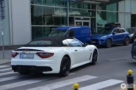 maserati blue 2017 maserati grancabrio mc 11 june 2017 autogespot