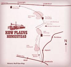 mail run re enactment kow plains