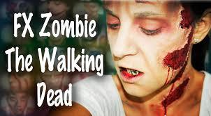 maquillaje halloween zombie the walking dead makeup fx 36