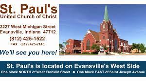 Map Of St Joseph Michigan by St Paul U0027s United Church Of Christ Evansville Indiana