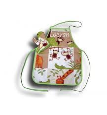 cuisine garcon tablier de cuisine pour garçon tablier 4 10 ans motif singe et