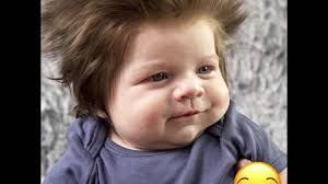this 9 week old baby has a ridiculous head of hair youtube