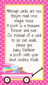baby shower instead of a card bring a book twinkle theme bring a book instead of a card baby shower