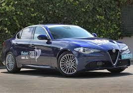 car of the year finalists alfa romeo giulia takes an early lead