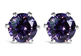 beautiful ear rings beautiful sterling silver swarovski zirconia stud earrings 5mm