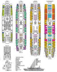 ship floor plans ss rotterdam v part 6 deck plans u0026 other images