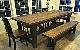 barn style dining table u2013 table idea