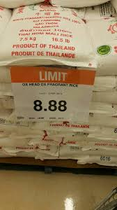 Loblaws Home Decor Loblaws Ox Head Fragrant Rice 7 5kg 16 5lbs 8 88 Redflagdeals