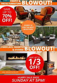 Tropitone Fire Pit by Rich U0027s Half Off Sale On Patio Furniture And Fire Pits Thru April