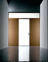 front door modern modern interior swing door featuring frosted glass panel anodized